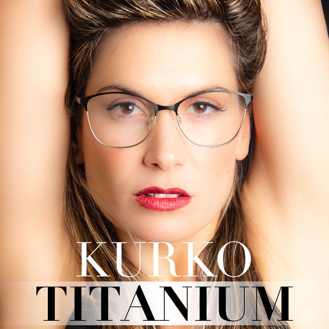 Ligereza gafas titanio